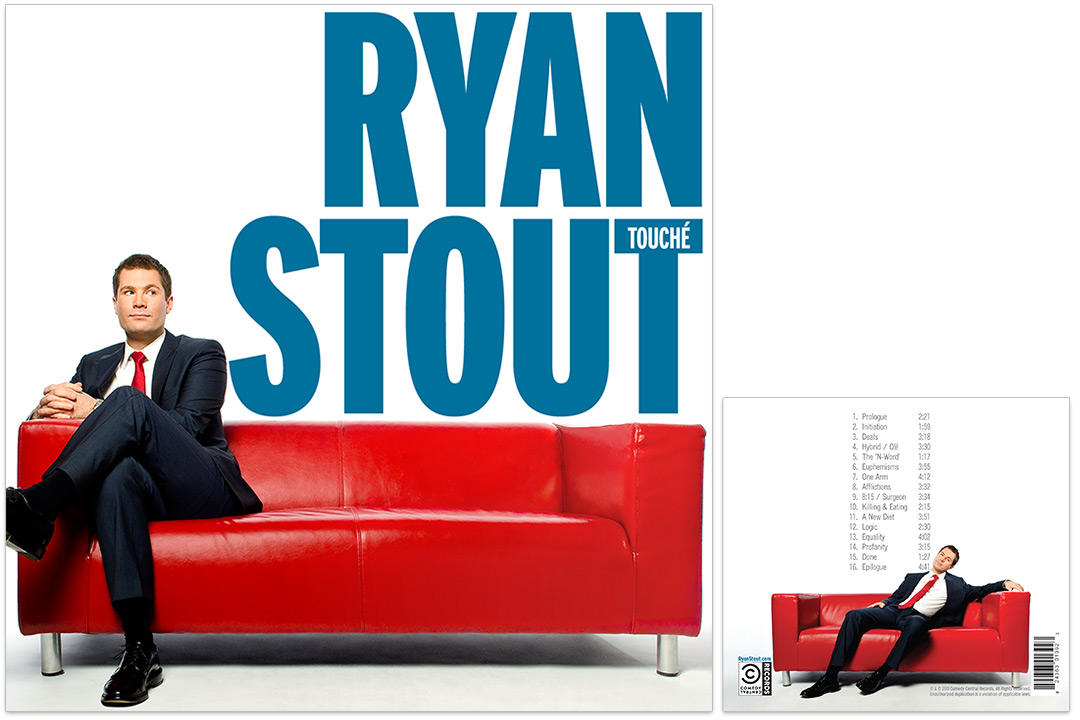 Ryan Stout Touché album cover