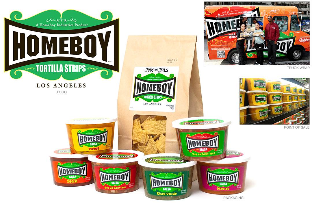Homeboy Salsa branding