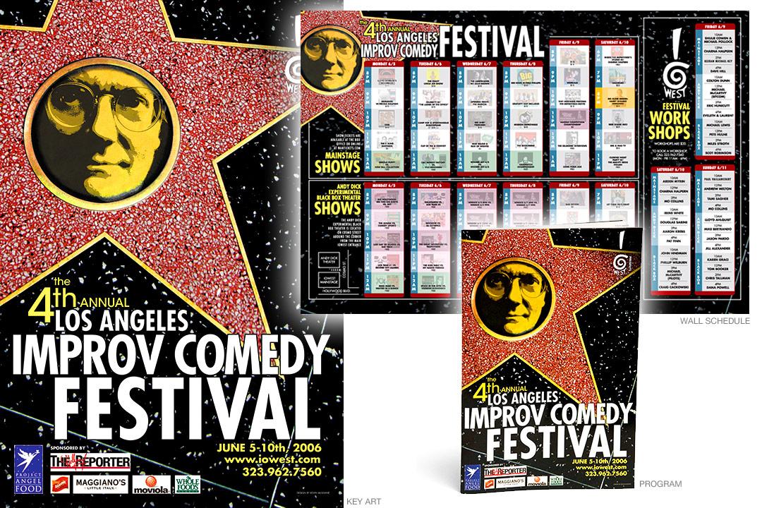 Los Angeles Improv Comedy Festival 2006 branding