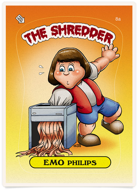 Emo Phillips The Shredder
