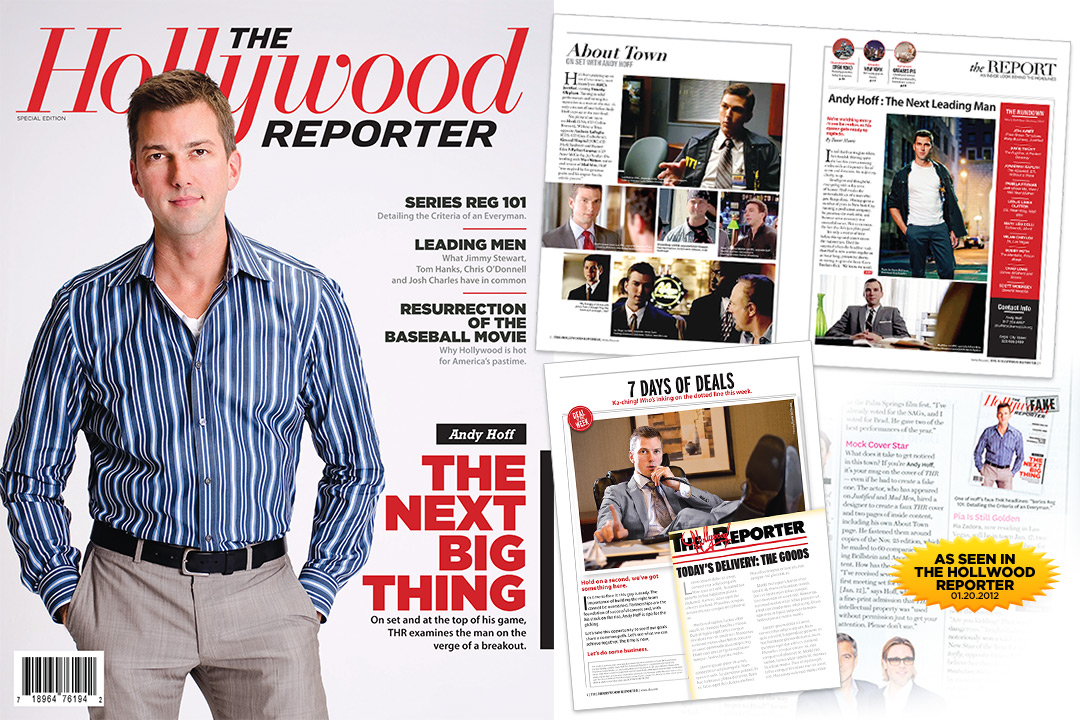 Andy Hoff Fake Hollywood Reporter