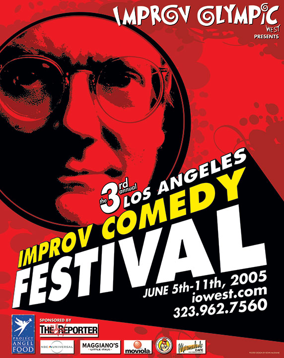 Los Angeles Improv Comedy Festival 2005 Key Art