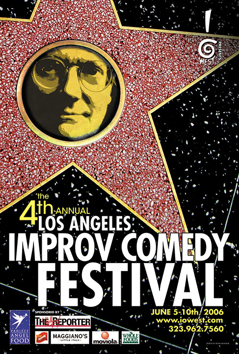 Los Angeles Improv Comedy Festival 2006 Key Art