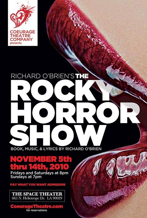 The Rocky Horror Show Key Art