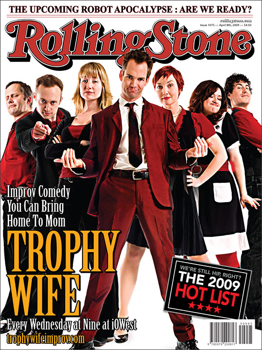 Trophy Wife Fake Rolling Stone Cover