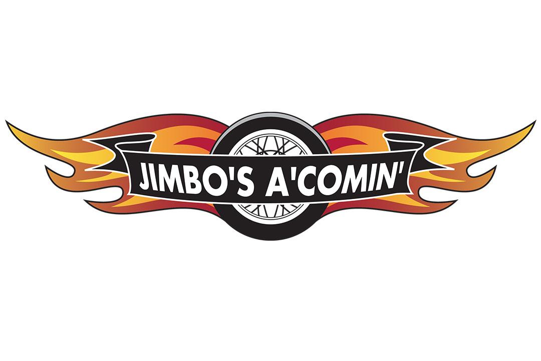 Jimbo's A'Comin' logo