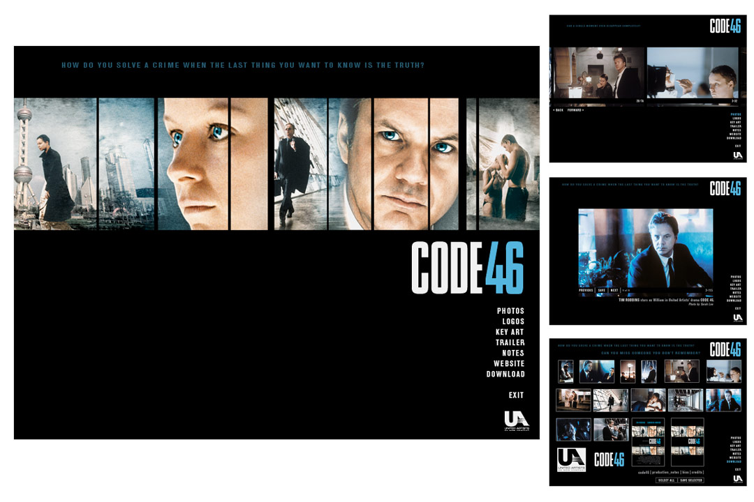 Code46 Interactive Press Kit