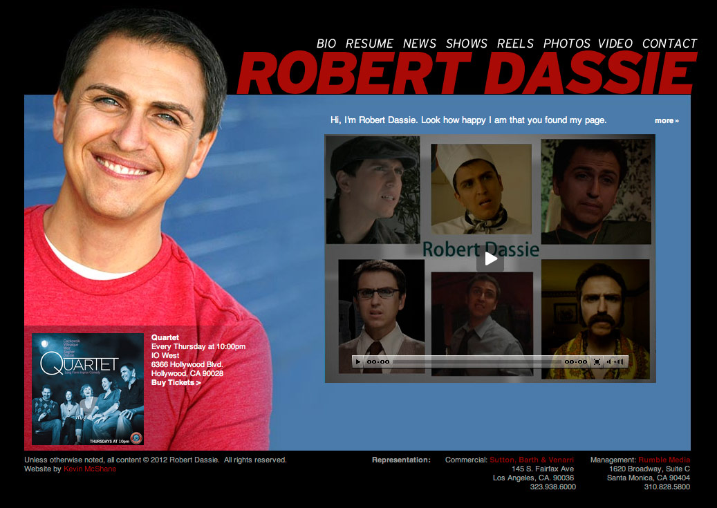 Robert Dassie website