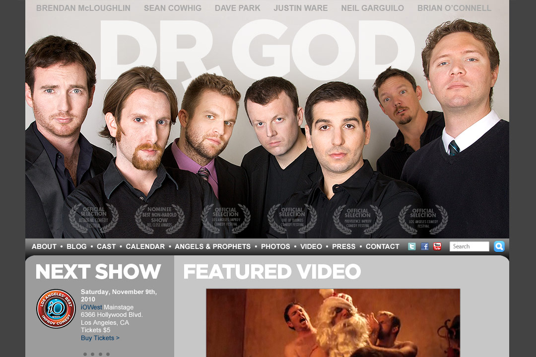 Dr God website