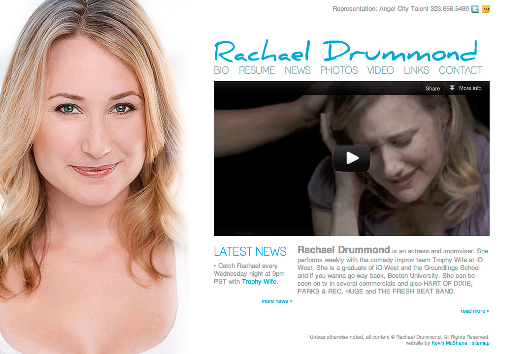Rachael Drummond website